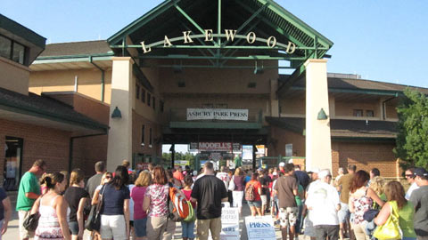The BlueClaws have instituted a maximum 8,000-person attendance policy at FirstEnergy Park.