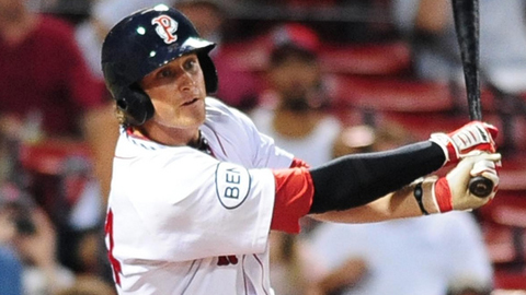 Will Middlebrooks collected three hits in Pawtucket's 4-2 win over Buffalo.