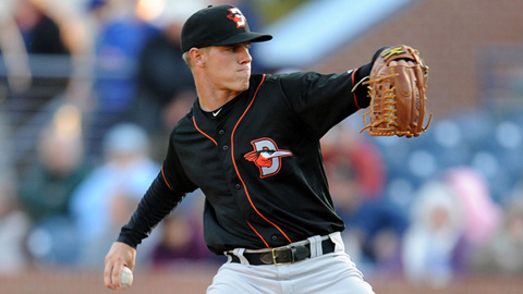 Dylan Bundy has struck out 33 batters in 20 innings this season.